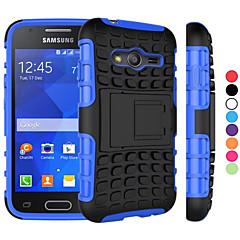 voordelige Overige hoesjes / covers voor Samsung-hoesje Voor Samsung Galaxy Samsung Galaxy hoesje Schokbestendig met standaard Achterkant Schild PC voor Young 2 Grand Prime Core Prime
