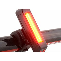 Rear Bike Light Tail Lights LED - Cycling Waterproof Easy Carrying Warning Durable LED Light Other 100 Lumens USB Cycling/Bike-RAYPAL