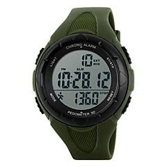 preiswerte Tolle Angebote auf Uhren-SKMEI Damen Digitaluhr / Sportuhr Alarm / Kalender / Chronograph Caucho Band Elegant / Modisch Schwarz / Blau / Grün
