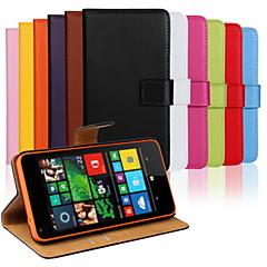 halpa Nokia kotelot / kuoret-Varten Nokia kotelo Lomapkko / Korttikotelo / Tuella Etui Kokonaan peittävä Etui Yksivärinen Kova Tekonahka NokiaNokia Lumia 1020 / Nokia