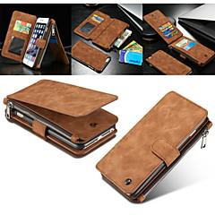 Недорогие Кейсы для iPhone 7-Кейс для Назначение Apple iPhone 8 iPhone 8 Plus Кейс для iPhone 5 iPhone 6 iPhone 6 Plus iPhone 7 Plus iPhone 7 Бумажник для карт
