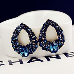 tanie -Kolczyki na sztyft Stop Niebieski Biżuteria Na Ślub Impreza Codzienny Casual 1szt