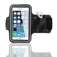 Недорогие Универсальные чехлы и сумочки-Кейс для Назначение iPhone 6s / iPhone 6 С ремешком на руку Мягкий текстильный для