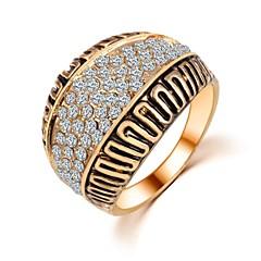 Női Karikagyűrűk jelmez ékszerek Cirkonium Ékszerek Kompatibilitás Esküvő Parti Napi Hétköznapi
