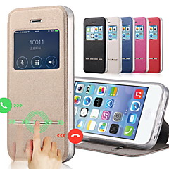 tanie Etui do iPhone-Kılıf Na Apple iPhone 8 iPhone 8 Plus Etui iPhone 5 iPhone 6 iPhone 6 Plus iPhone 7 Plus iPhone 7 Z podpórką Z okienkiem Flip Pełne etui