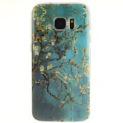Χαμηλού Κόστους Galaxy S6 Θήκες / Καλύμματα-Για Samsung Galaxy S7 Edge Με σχέδια tok Πίσω Κάλυμμα tok Δέντρο TPU Samsung S7 edge / S7 / S6 edge plus / S6 edge / S6