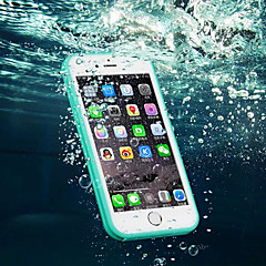voordelige -Voor iPhone 8 iPhone 8 Plus iPhone 7 iPhone 7 Plus iPhone 6 iPhone 6 Plus Hoesje cover Waterbestendig Transparant Volledige behuizing