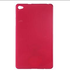 Χαμηλού Κόστους Θήκες Tablet-tok Για Huawei Κάλυμμα πίσω μέρους Προφυλακτήρας Πίσω Κάλυμμα Συμπαγές Χρώμα Μαλακή TPU για