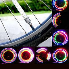 캡 라이트 밸브 캡 플래시 라이트 안전 등 바퀴 등 LED - 싸이클링 방수 LED 라이트 AG10 80 루멘 배터리 사이클링 의 motocycle-XIE SHENG®