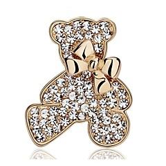 Χαμηλού Κόστους Γυναικεία Κοσμήματα-Γυναικεία Στρας Επάργυρο Επιχρυσωμένο Χρυσό Ασημί Κοσμήματα Γάμου Πάρτι Causal