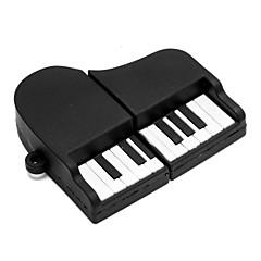 zpk02 8gb zwarte piano usb 2.0 flash-geheugen u de stok