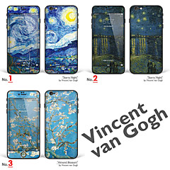 "iPhone 6 Plus/6S Plus Body Art Skin Sticker: ""Works by Vincent van Gogh (Part 1 of 3)"" (Masterpieces Series)"