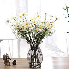 실크 데이지 꽃 인공 꽃
