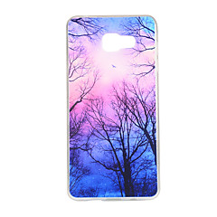 olcso Galaxy A7 tokok-Case Kompatibilitás Samsung Galaxy Samsung Galaxy tok Minta Fekete tok Látvány TPU mert A7(2016) A5(2016) A3(2016) A7 A5 A3