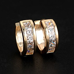 스터드 귀걸이 링 귀걸이 의상 보석 지르콘 합금 보석류 제품 결혼식 파티 일상 캐쥬얼 스포츠