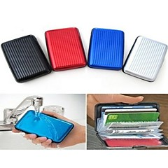 Aluminum Wallet Alloy Card Package Aluma Wallet Card Case Credit Card Box Waterproof Credit Wallet