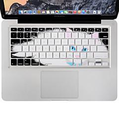 お買い得  MAC 用キーボード カバー-MacBook Airの/プロ13 15 17インチ、私たちレイアウトのxskn耐久性のある極薄キーボードカバーシリコーン皮膚怠惰な猫