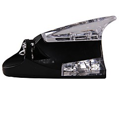 abordables Cobertura para Antenas-aleta de tiburón ziqiao disponen de antena universal de la energía eólica llevó la luz de la lámpara del coche