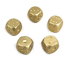 exquisitos dado de aleación de aluminio de plata de oro