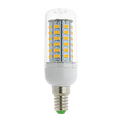 E14 G9 GU10 B22 E12 E26 E26/E27 LED Corn Lights T 56 leds SMD 5730 Warm White Cold White 700lm 3000-6500K AC 85-265V