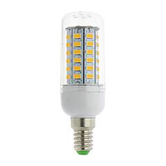 E14 G9 GU10 B22 E12 E26 E26/E27 Bombillas LED de Mazorca T 56 leds SMD 5730 Blanco Cálido Blanco Fresco 700lm 3000-6500K AC 85-265V