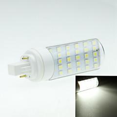 4W G24 LED Doppel-Pin Leuchten Drehbae 30 Leds SMD 5050 Dekorativ Warmes Weiß Kühles Weiß 250-300lm 2800-3200 6000-6500K AC 85-265V