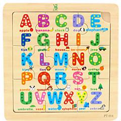 abordables Juguetes de la matemáticas-Puzzle Juguete Educativo Juguetes Madera Dibujos Piezas Niños Regalo