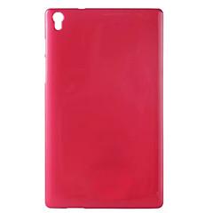 Χαμηλού Κόστους Θήκες Tablet-tok Για Lenovo Πίσω Κάλυμμα Θήκες για Tablets Συμπαγές Χρώμα Μαλακή TPU για