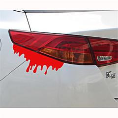 14 * 5 cm reflecterende bloeden persoonlijkheid autostickers (1st)