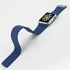 tanie Bransoletki do Apple Watch-Watch Band na Apple Watch Series 3 / 2 / 1 Apple Opaska na nadgarstek Bransoletka skórzana Skóra naturalna