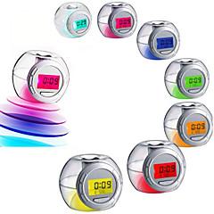 お買い得  クロック-目覚まし時計 デジタル プラスチック LEDライト付き 1pcs
