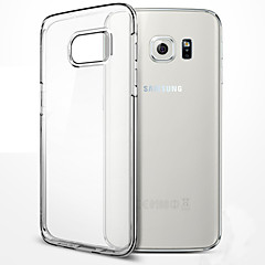 voordelige Galaxy S6 Edge Hoesjes / covers-Voor Samsung Galaxy S7 randkoffer tpu zacht transparant geval s7 s6 s5 s4 rand plus s8 plus s8
