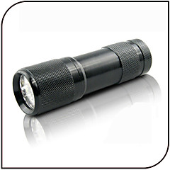 cheap -On-Off Black Light Flashlights/Torch LED 100 lm 1 Mode - Counterfeit Detector Ultraviolet Light Everyday Use Black