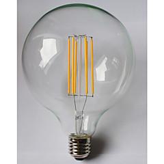 billige LED-lyspærer-1pc 8W 980 lm E26/E27 LED-glødepærer G125 8 leds COB Vanntett Dekorativ Varm hvit Ravgult AC 85-265V