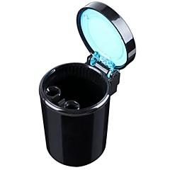 お買い得  カーアクセサリー-ziqiao可動灰皿の車はライト灰皿自動旅行灰ホルダーカップを導きました