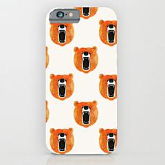 Для Кейс для iPhone 6 / Кейс для iPhone 6 Plus С узором Кейс для Задняя крышка Кейс для Плитка Твердый PCiPhone 6s Plus/6 Plus / iPhone