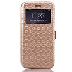 iphone 7 плюс 4,7 дюйма лин плед шаблон высокого качества бумажник PU кожаный чехол для Iphone 6с 6 плюс