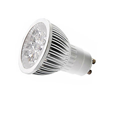 preiswerte LED-Birnen-3.5 W 3000/6500 lm E14 / GU10 / GU5.3(MR16) LED Spot Lampen MR16 5 LED-Perlen Hochleistungs - LED Warmes Weiß / Kühles Weiß 85-265 V / 1 Stück / RoHs / CCC