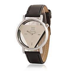 お買い得  レディース腕時計-女性用 リストウォッチ クォーツ ホット販売 PU バンド ハンズ チャーム ファッション ブラック / 白 - ホワイト ブラック ホワイト-ブラック 1年間 電池寿命 / Tianqiu 377