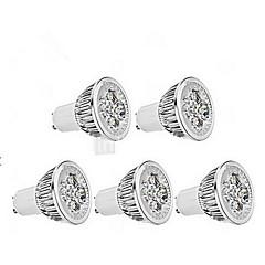 5W GU10 Focos LED MR16 1 leds Regulable Blanco Fresco 400-450lm 6000-6500K AC 100-240V