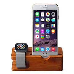 Telefoonhouder standaard Bureau Overige Hout for Mobiele telefoon