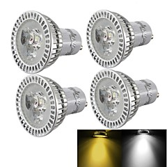 cheap LED Bulbs-GU10 LED Spotlight R63 3 High Power LED 300 lm Warm White Cold White 3000K/6000K K Dimmable Decorative AC 85-265 AC 220-240 AC 110-130 V