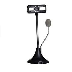 hd network kamera kamerası gece sürümü masaüstü dizüstü bilgisayar için / mikrofon w