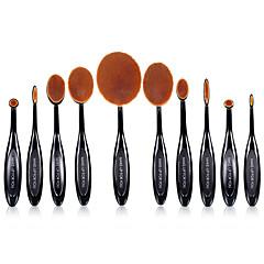 10 Brush Sets Synthetisch haar Professioneel / Beugel Plastic Lip / Gezicht / Oog MAKE-UP FOR YOU