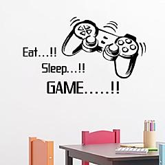 abordables Stickers-Animaux Personnage Nature morte Romance Mode Forme Vintage Vacances Bande dessinée Loisir Fantaisie Stickers muraux Mots et citations