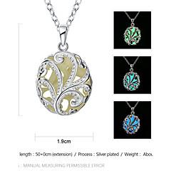 Κολιέ Κρεμαστά Κολιέ / Κολιέ με Αλυσίδα / Μενταγιόν Κοσμήματα Καθημερινά / Causal Κράμα Σκούρο μπλε / Μπρονζέ / Πράσινο 1pc Δώρο