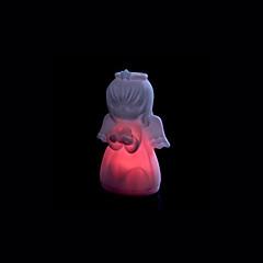 abordables Luces de Interior-1 pieza Lámparas de Noche / Luz Decorativa Batería Decorativa 220 V