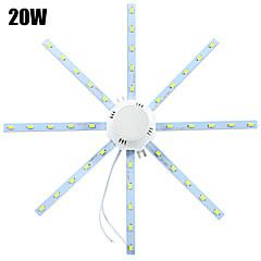 voordelige LED-plafondlampen-ywxlight® led-plafondverlichting 40 smd 5730 1600-1920 lm koudwit 6000-6500 k decoratief ac 220-240 v