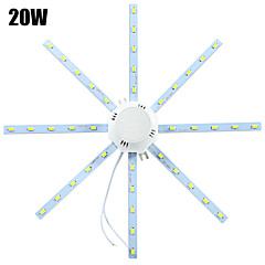 ywxlight® led-plafondverlichting 40 smd 5730 1600-1920 lm koudwit 6000-6500 k decoratief ac 220-240 v