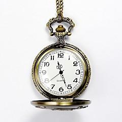 Męskie Zegarek kieszonkowy Kwarcowy Stop Pasmo żółty